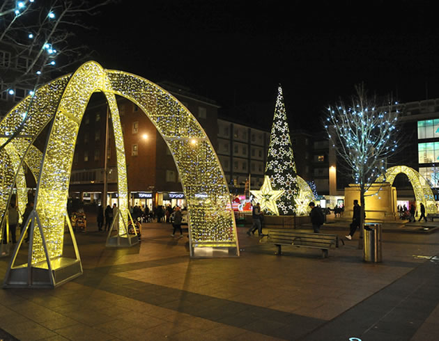Local Authority Festival Lights