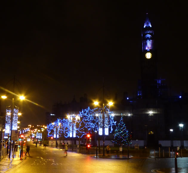 Bradford City Festival Lights